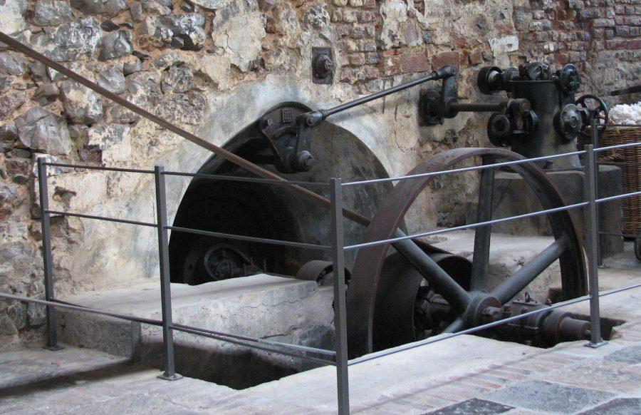 Wasserradantrieb