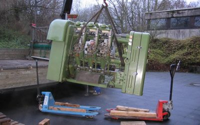Maschinen der gewerblich-technischen Schulen Aachen
