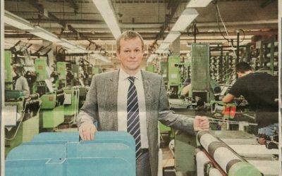 Nicht nur Tuche – technische Textilien