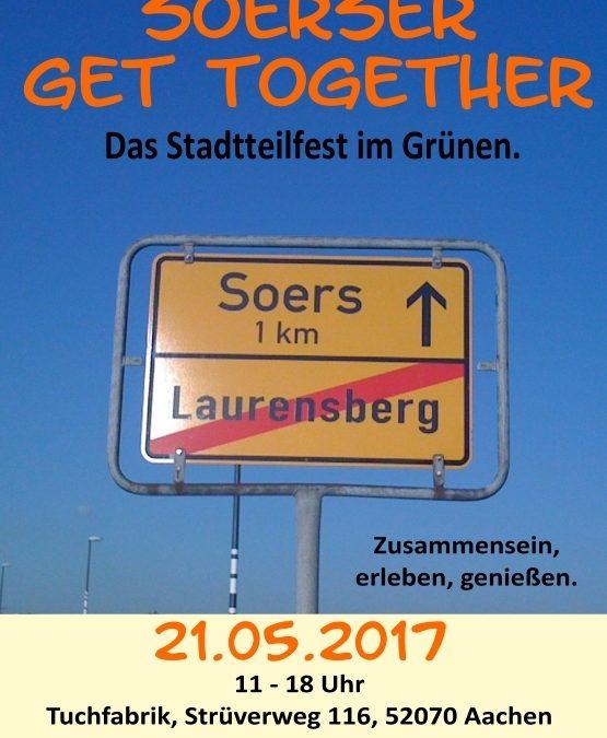 """""""Soerser get together"""" – Stadtteilfest"""