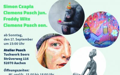 "Atelier Pasch: ""younger than kurt cobain and the old man"""