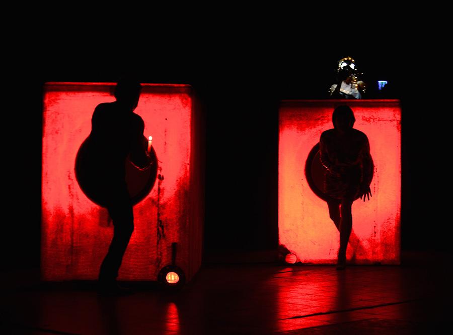 """Theater K im Tuchwerk: """"Biedermann und die Brandstifter"""""""