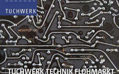 24. Juni: Tuchwerk Technik Flohmarkt