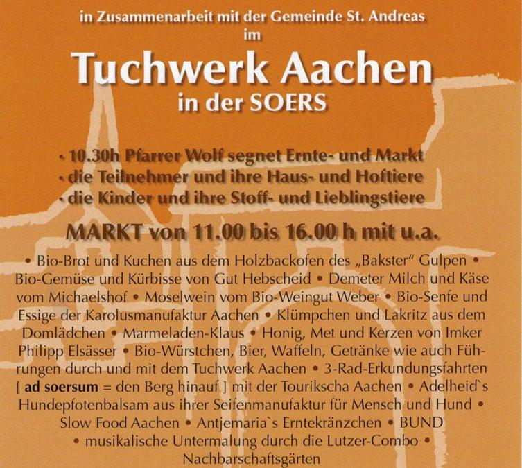 3.10. | Karlsmanufaktur: Erntedankmarkt
