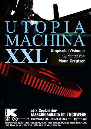 8.9. | Premiere im Theater K: UTOPIA * MACHINA XXL
