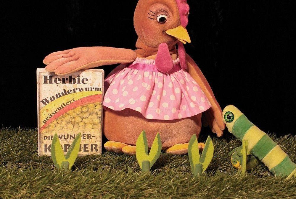 Die kleine Theaterfabrik | Henriette und die Wunderkörner | Figurentheater