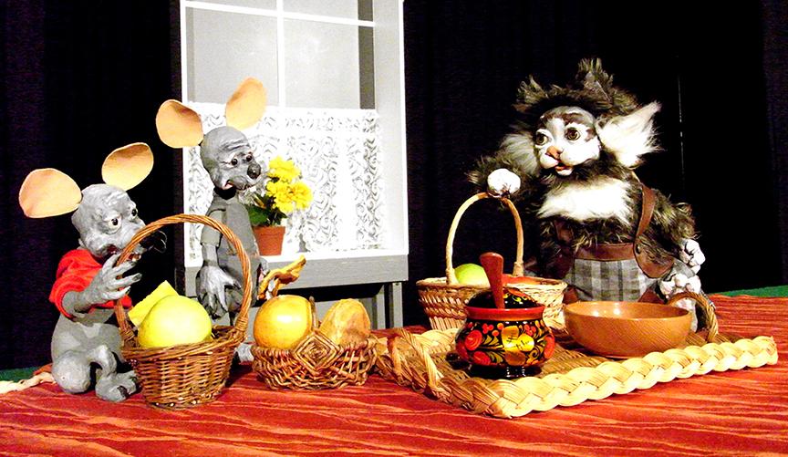 Die kleine Theaterfabrik | Katzenleben | Puppenspiel