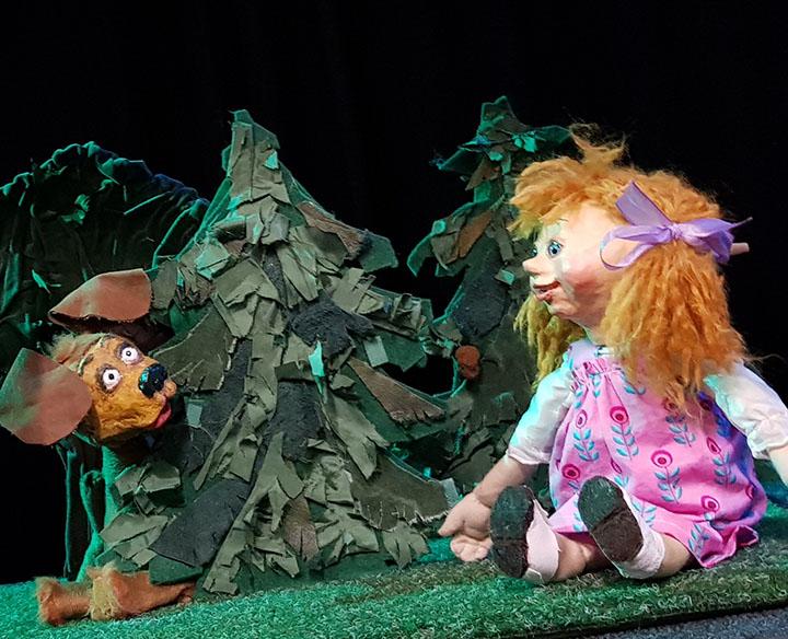 Die kleine Theaterfabrik | Mascha und drei Bären | Puppenspiel