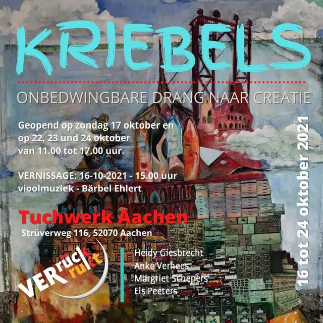KRIEBELS – Der unbedingte Drang nach Kreativität    Kunstgruppe Verrückt-Verrukt